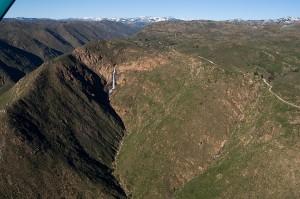 E El Cap waterfall 2-27-11